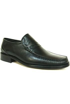 Nevzat Zöhre 031 Siyah Bağcıksız Rok Erkek Ayakkabı