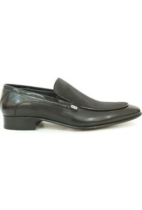 Nevzat Zöhre 1146 Siyah Bağcıksız Erkek Ayakkabı