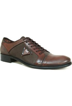 Nevzat Zöhre 948 Kahverengi Bağcıklı Erkek Ayakkabı