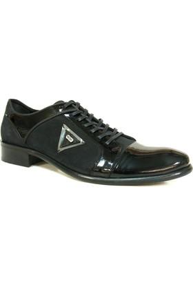 Nevzat Zöhre 948 Siyah Bağcıklı Erkek Ayakkabı