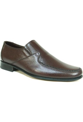 Slope 164044 Kahverengi Bağcıksız Kösele Erkek Ayakkabı