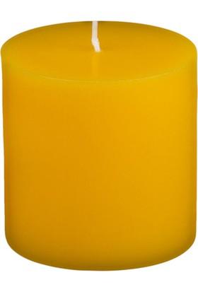 Mumvemum 5X5 Sarı Silindir Mum