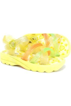 Punto Sarı Deniz Plaj Kumsal Çocuk Sandalet