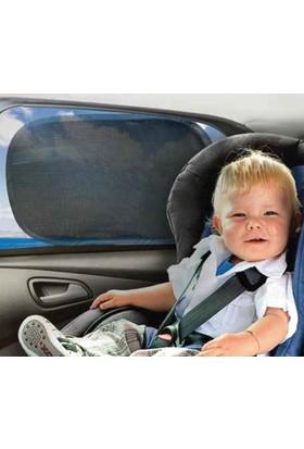 Baby&Plus Vantuzsuz Statik Güneşlik 2 Adet