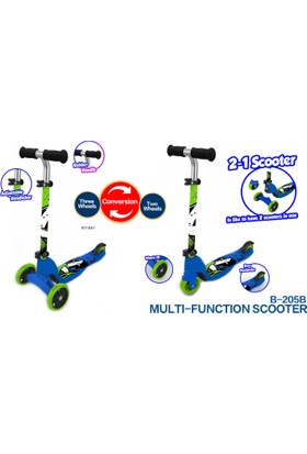 Baby&Toys 2 In 1 Scooter