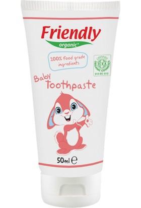 Friendly Organic Bebek Jel Diş Macunu Ahududu Aromalı 50 ml