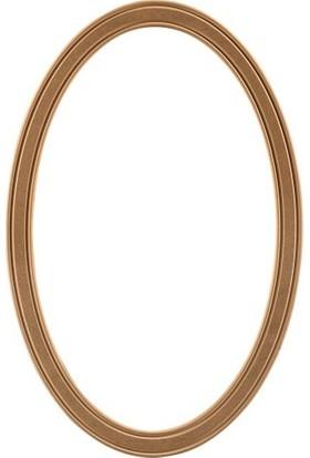 ASEH 8210 100 Lük Fitilli Ovel Ayna Çerçevesi (Aynasız)