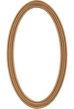 ASEH 8211 85 Lik Fitilli Ovel Ayna Çerçevesi (Aynasız)