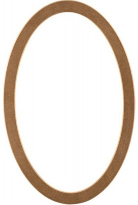 ASEH 8214 100 Lük Ovel Ayna Çerçevesi (Aynasız)