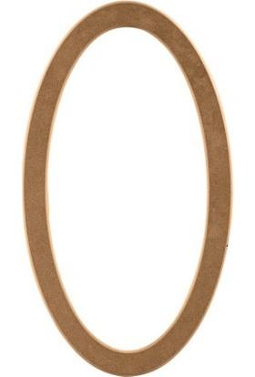ASEH 8216 70 Lik Ovel Ayna Çerçevesi (Aynasız)