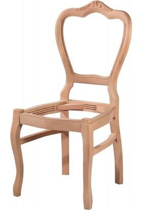 ASEH 7124 Klasik Oymalı Sandalye