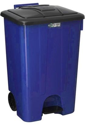 Şenyayla Çöp Konteyneri 85 lt 4265 - Mavi