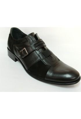 Yusuf Uyanık Siyah Klasik Abiye Erkek Ayakkabı