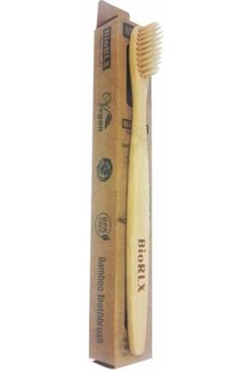 Biorlx Doğal Bambu Diş Fırçası %100 Doğal Bambu Ağacı