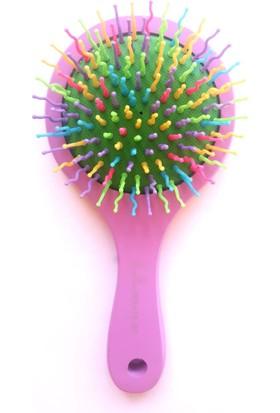 Khlina Gökkuşağı Professional Aynalı Saç Fırçası