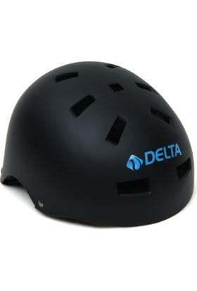 Delta Bisiklet Paten Kaykay Ayarlanabilir Dura-Strong Deluxe Junior Kask - 411C