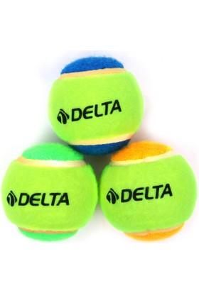 Delta 3 Lü Tenis Topu - Polibag - Dtr 741