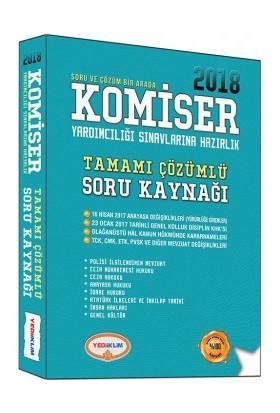 Yediiklim Yayınları 2018 Komiser Yardımcılığı Sınavlarına Hazırlık Tamamı Çözümlü Soru Kaynağı