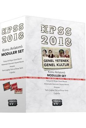 Yediiklim Yayınları 2018 KPSS Genel Kültür Genel Yetenek Konu Anlatımlı Modüler Set