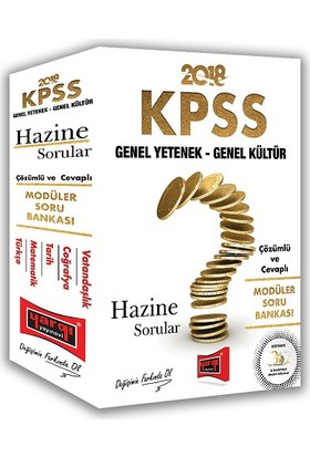 Yargı Yayınları 2018 KPSS Genel Yetenek Genel Kültür Hazine Sorular Çözümlü Modüler Soru Bankası
