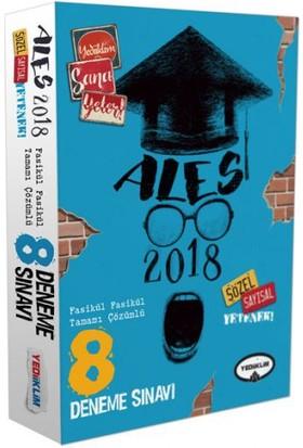Yediiklim Yayınları 2018 ALES Tamamı Çözümlü 8 Fasikül Deneme