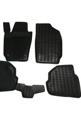 Bmw X6 Serisi Araç İçi Paspas Takımı Bej E71 Kasa Uyumlu 2008-2013 Arası Kokusuz Kauçuk 3D Korumalı