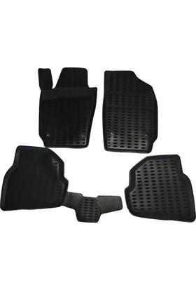 Honda Civic Fb7 Kasa Uyumlu Bej Araç İçi Paspas Takımı 2012-2016 Arası Kokusuz Kauçuk 3D Korumalı