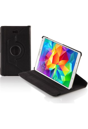 "Dark Samsung tab A 10.1"" T580 360° Dönebilen Siyah Kılıf & Stand (DK-AC-SMKRT580)"
