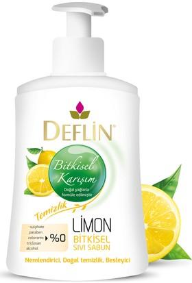 Deflin Limon Bitkisel Sıvı Sabun