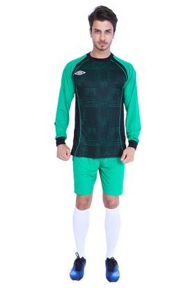 Umbro Premium Uzun Kol Kaleci Kazağı Şortlu Takım Yeşil