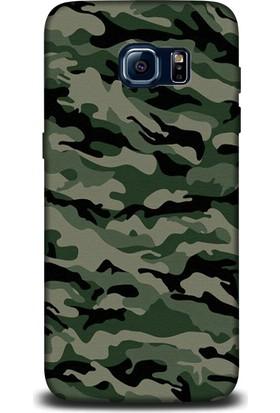 Exclusive Samsung S7 Kamuflaj Design Kapak