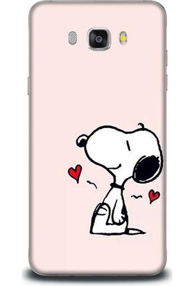 Exclusive Samsung J7 2016 Aşık Snoopy Design Kapak