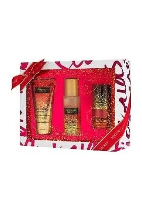 Victoria's Secret Pure Seduction Shimmer Simli Hediye Seti 3 Parça