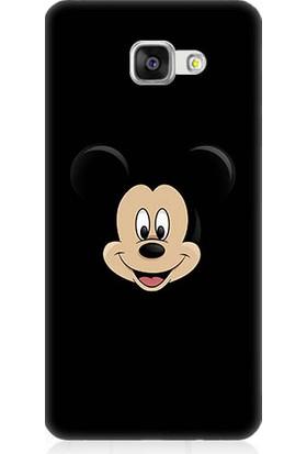 Teknomeg Samsung Galaxy A7 2016 A710 Mickey Mouse Desenli Silikon Kılıf