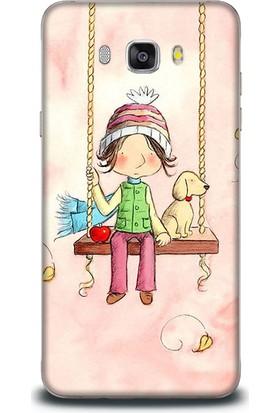 Exclusive Samsung J7 2016 Whimsical Art Children Design Kapak