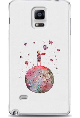 Exclusive Samsung Note 4 Küçük Prens Design Kapak