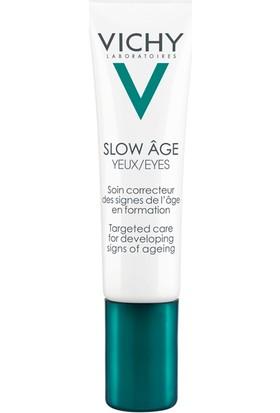 Vichy Slow Age Eye Care Probiyotik İçeren Göz Çevresi İçin Günlük Bakım Kremi Kırışıklık Karşıtı 15 ml