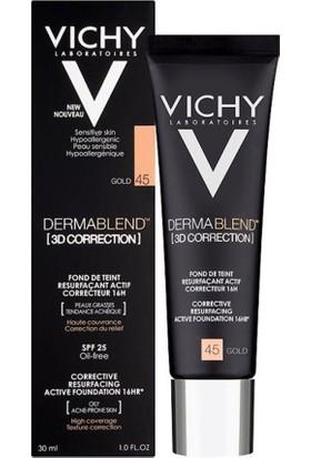 Vichy Dermablend 3D Correction Gold 45 Kapatıcı