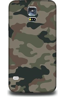 Exclusive Samsung S5 Asker Kamuflaj Design Kapak