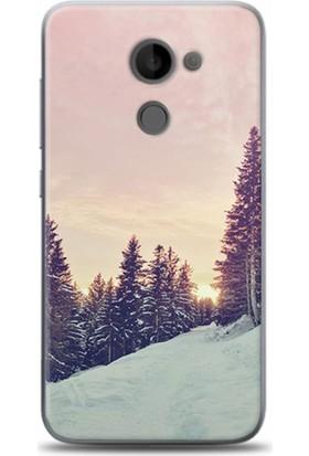 Exclusive Vodafone Smart 7 Pro Kar Ve Çam Design Kapak