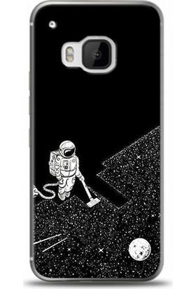 Exclusive Htc One S9 Uzay Temizliği Design Kapak