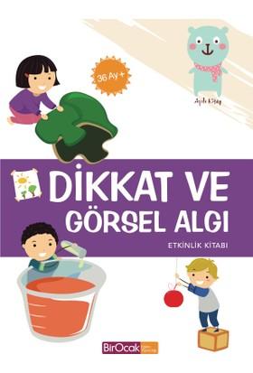 Dikkat Ve Görsel Algı Etkinlik Kitabı (36 Ay) - Elif Alkan