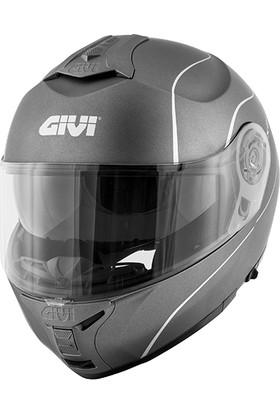 GIVI X21 MAT TITANIUM KASK