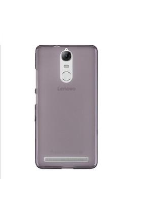 Case 4U Lenovo K6 Note Silikon Kılıf Siyah + Cam Ekran Koruyucu