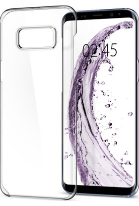 Spigen Samsung Galaxy S8 Kılıf Nano Fit Crystal Clear - 565CS21593