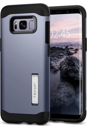 Spigen Samsung Galaxy S8 Kılıf Slim Armor Orchid Gray - 565CS21785
