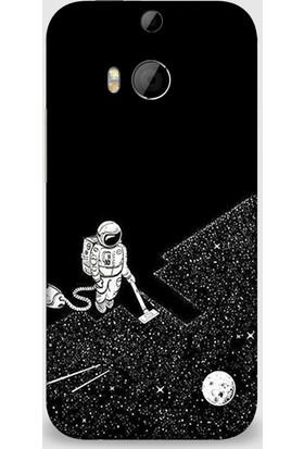 Exclusive Htc M8 Uzay Temizliği Design Kapak