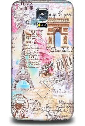 Exclusive Samsung S5 Paris History Design Kapak