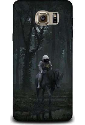 Exclusive Samsung Note 5 Ata Binen Astronot Design Kapak
