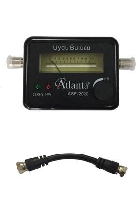Atlanta ASF 2020 Işıklı & Sesli Uydu Bulucu +Test Ara Kablosu